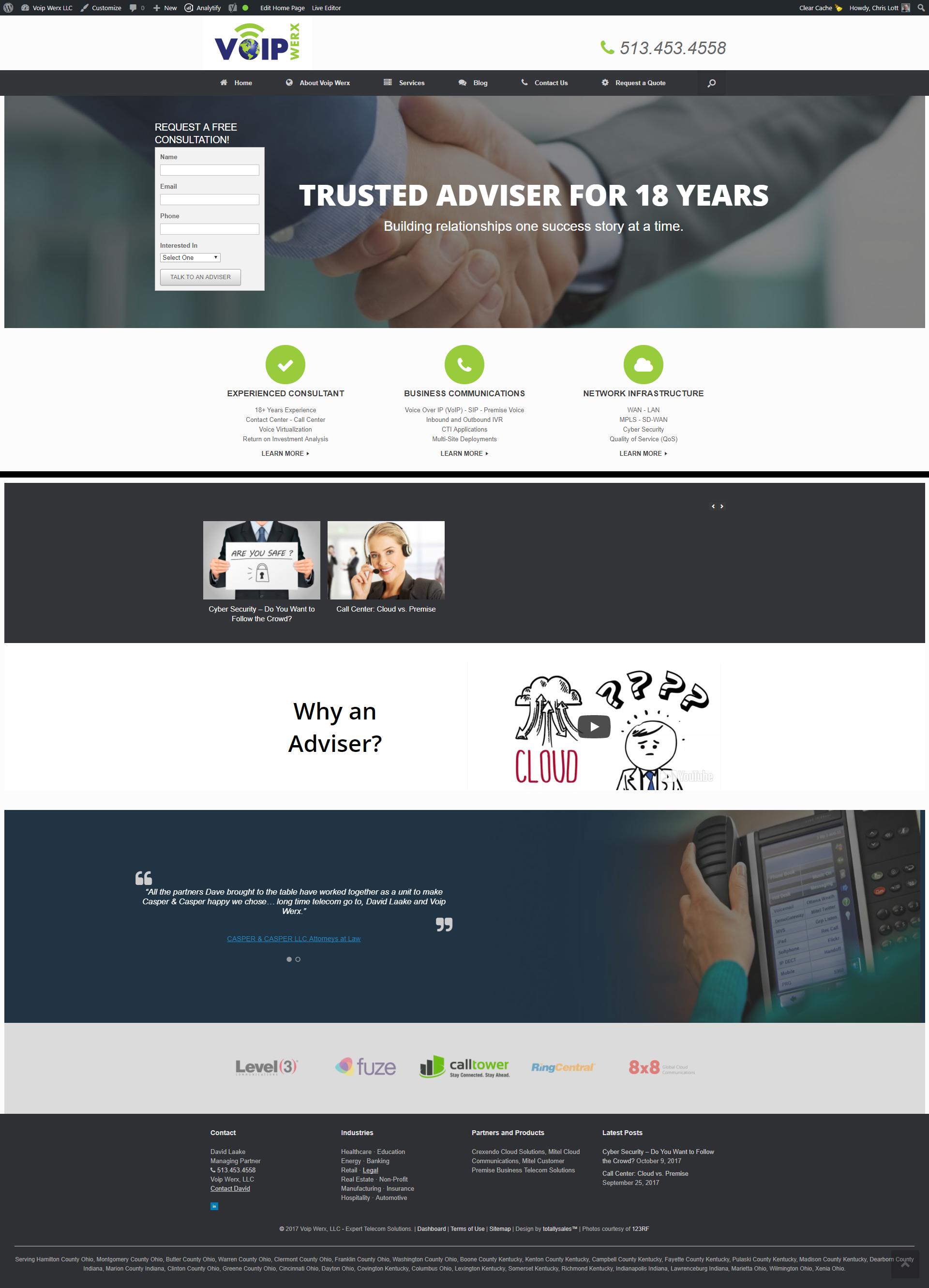 Home Page - Voip Werx LLC